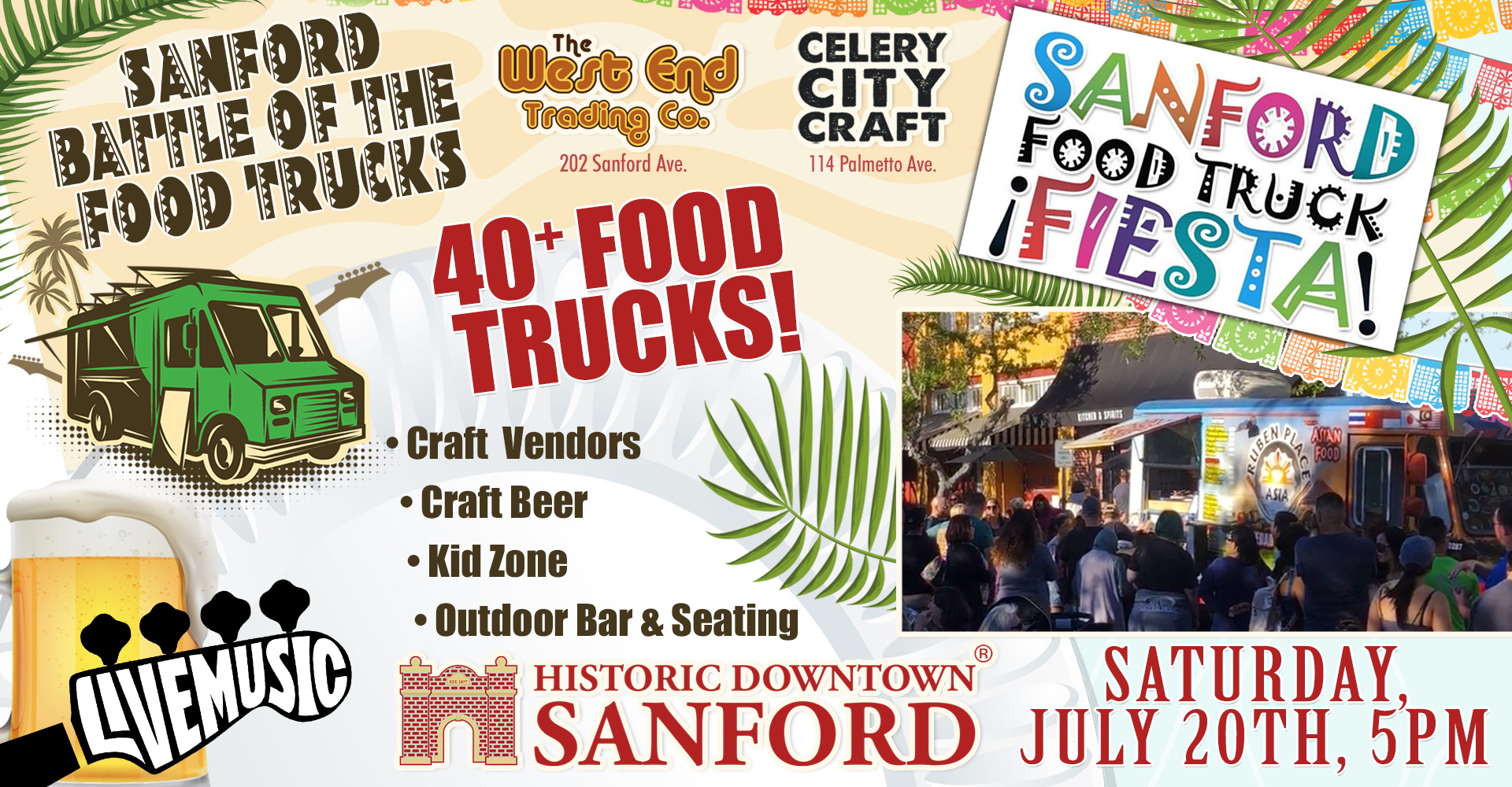 Sanford Food Trucks Battle